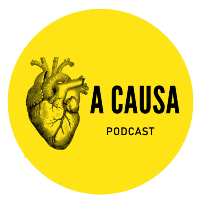 logo do podcast a causa